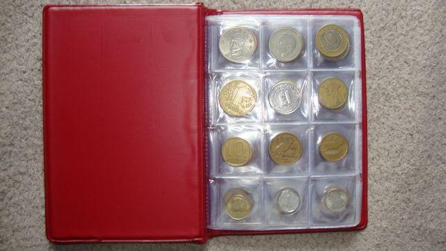 Monety świata w klaserze 96 sztuk