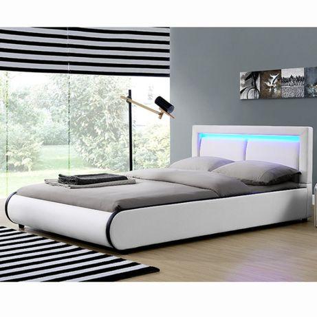 Łóżko tapicerowane 140 x 200 cm serii 980