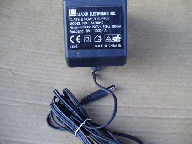 Блок питания Переменный трансф. 9V, 1A Leader Electronics inc. mod: A4