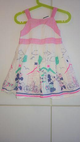 Платье disney на 1-2 года
