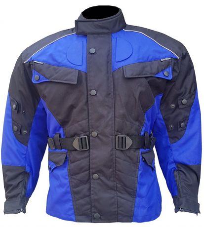 Kurtka motocyklowa, wodoodporna, Poliester 600D. Rozmiar M, L, XL, XXL