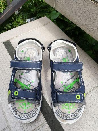 Sandałki r. 32 długość wkładki 20cm