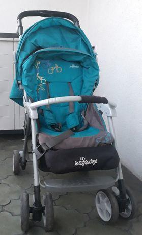 Wózek spacerowy dla dziecka BABY DESIGN rozkładany