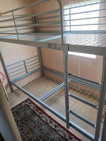 Łóżko piętrowe Ikea +Materace