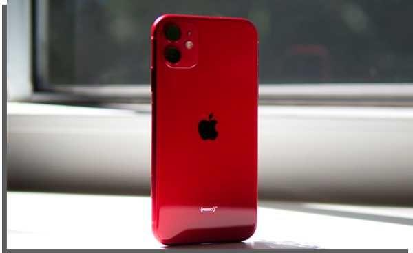 Iphone 11 Vermelho 64 GB em muito bom estado