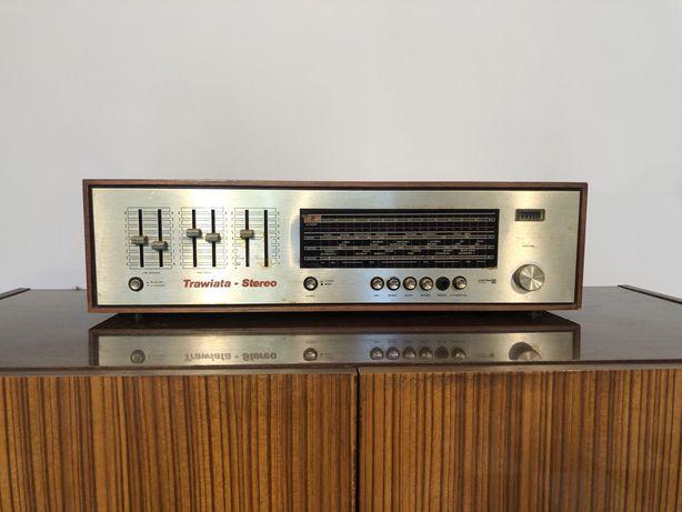Radio Unitra Diora Trawiata prl bintage retro