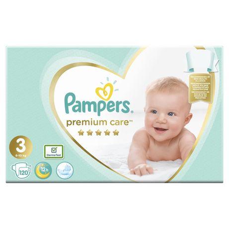 Подгузники Pampers premium care Mega box 3/120 4/104 5/88
