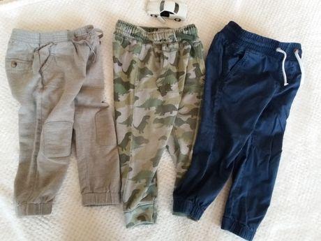 Zestaw ubranek spodnie Zara H&M 98