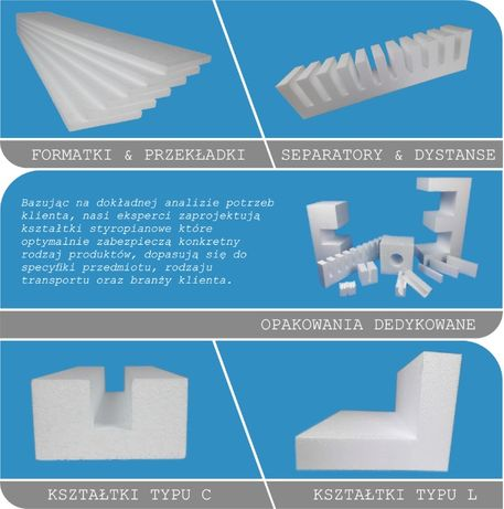Opakowania Styropianowe - Ticol Packaging Systems