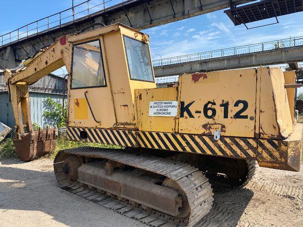 Koparka Gąsiennicowa Waryński K-612 rok1988