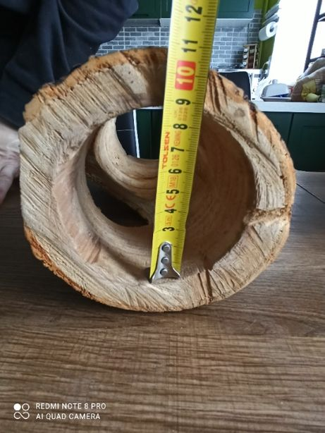 Tunel do terrarium - Naturalne drewno