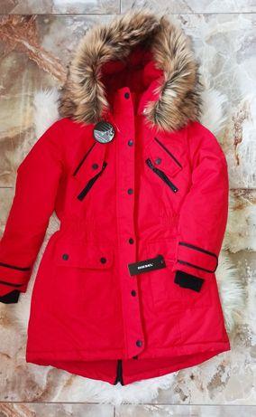 Куртка парка для девочки Diesel Оригинал 10-12 л.