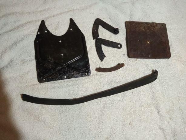 blacha rejestracji kedra zestaw części wfm osa m50 m52