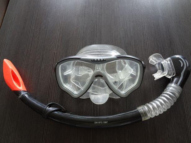 maska z rurka