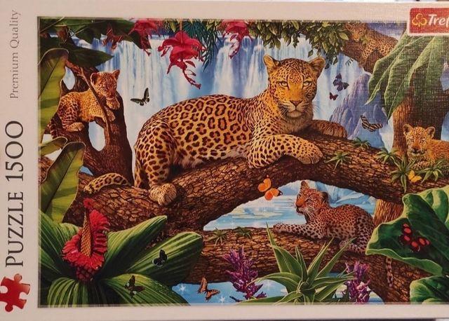 Puzzle Trefl Odpoczynek wśród drzew, 1500 elementów
