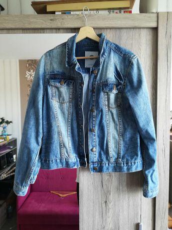 peppercorn kurtka jeansowa przetarcia L