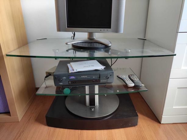 Mesa de sala/Movel, vidro TV Móvel
