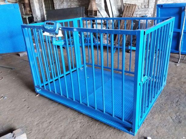 Весы для животных с клеткой 11900 грн (1000х1500 мм)