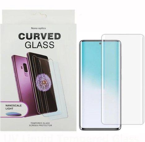Pelicula UV curvada para Oneplus 7 Pro, 8, 8 Pro, OPPO Find X3