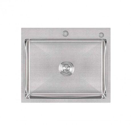Кухонна мийка Lidz H6050 3.0 / 1.0 мм Brush