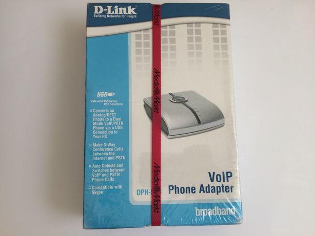 VOIP D-link Phone Adapter DPH-50U