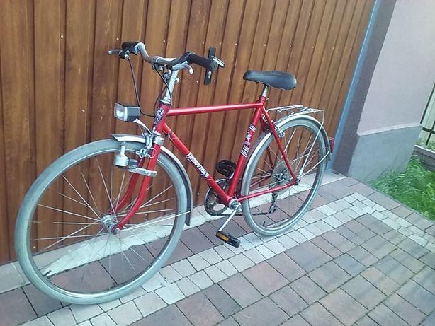 rower Romet Uniwersal na kołach 24 cale, 5 biegów