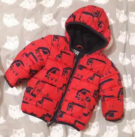 Зимняя куртка на мальчика Next