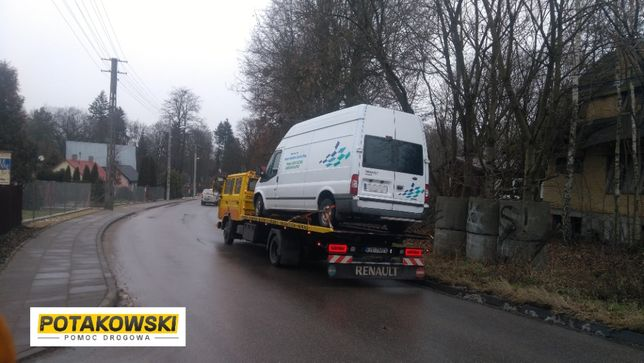 Pomoc Drogowa Autostrada A1 Piątek Transport maszyn do 6 ton 24/7