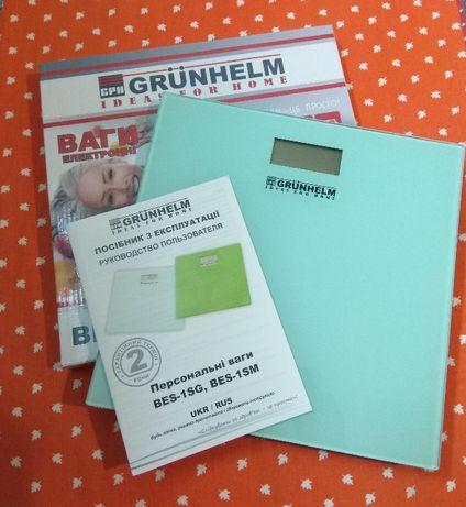 """Универсальные электронные напольные весы - """"Grunhelm"""""""