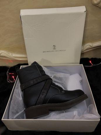 Ботинки демисезон Brunello Cucinelli, аналог оригиналу люкс качество