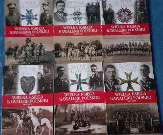 Wielka Księga Kawalerii Polskiej - Tom 9, 23, 26, 33, 34 i 43