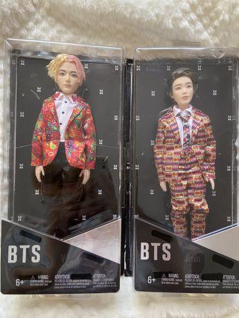 BTS x Mattel fashion dolls Чимин и Тэхён куклы