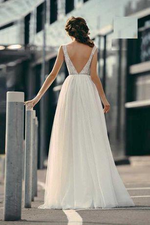 Vestido noiva simples. Novo