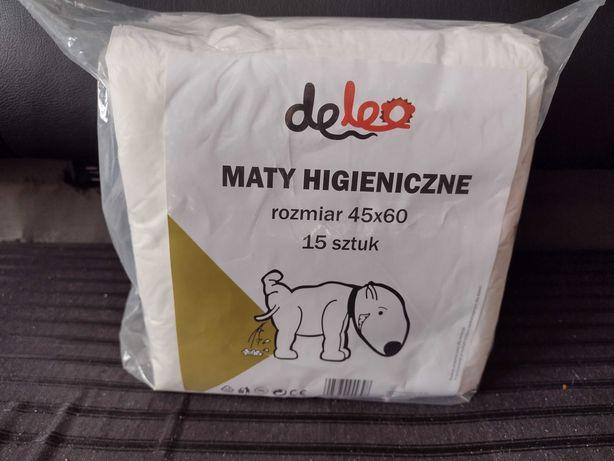 Maty higieniczne dla psów 45 x60 cm, 10 szt DELEO