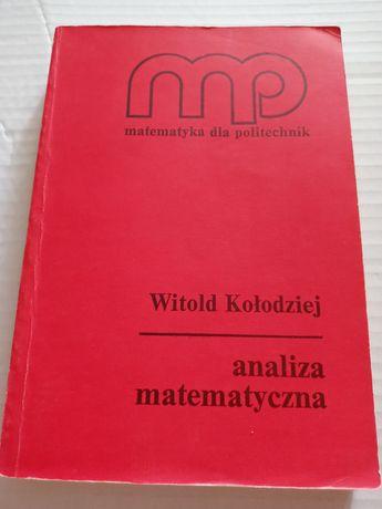 Witold Kołodziej Analiza matematyczna