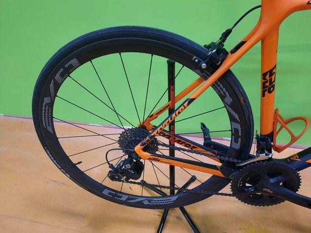 Rodas de carbono evo c38 com pneus