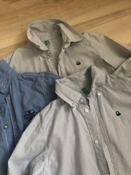 Benetton Chicco Рубашка размер 7-9 лет рост 122-134 см
