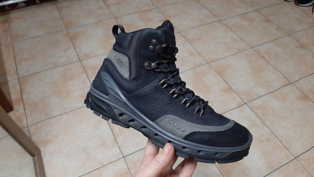 37р,24см,Кожаные трекинговые сапоги,ботинки,кроссовки Ecco (Эко) Yak