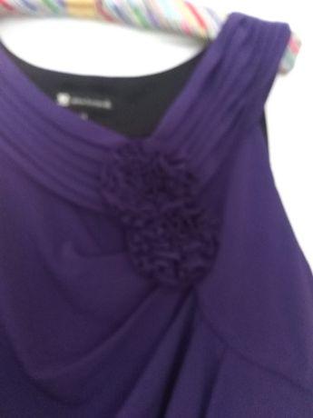 Letnia sukienka bez rękawów rozmiar 44