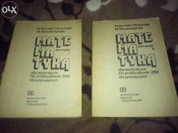 Matematyka semestr I i II i Matura z matematyki 2002 zbiór zadań Kowal