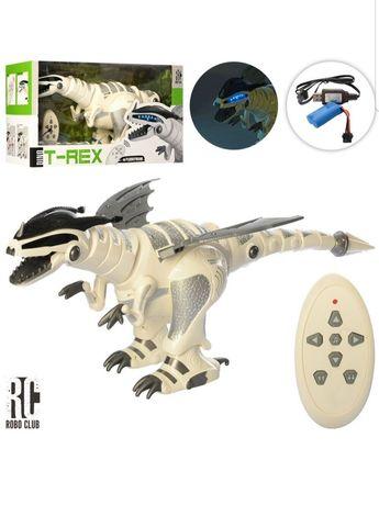 интерактивный робот динозавр на радиоуправлении  Limo Toy