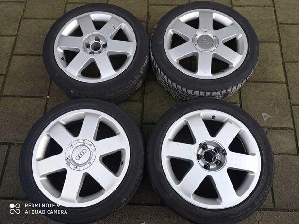 Felgi aluminiowe 17 5x100 7.5J ET32 Ronal org Audi