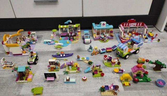 Lego frends cukiernia ,weterynarz ,konie