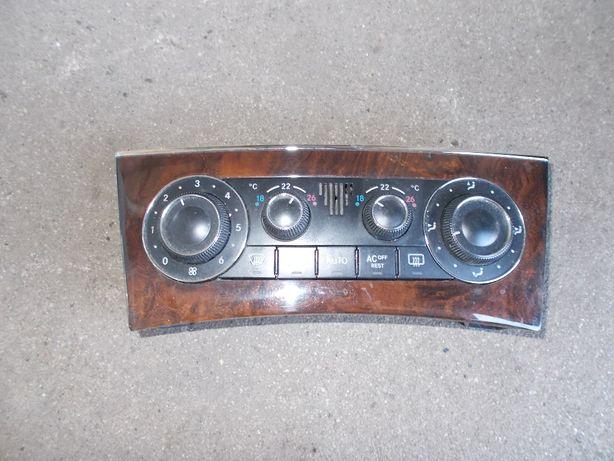 panel sterowania nawiewu Mercedes C w203