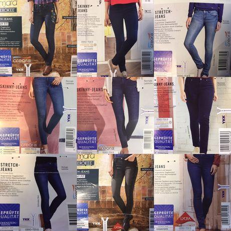 Женские джинсы оптом стретч лидл lidl сток по 10,5 € Esmara с Германии