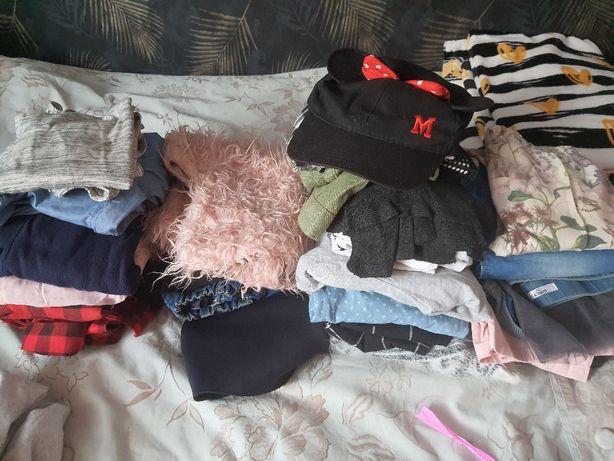 Zestaw paczka ubrań dziewczynka 128-134, 146 cm