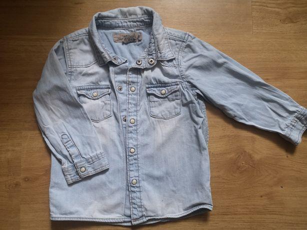Koszula jeansowa h&m dla chłopca