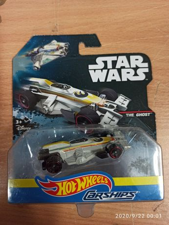 Resorak HOT WHEELS Carships The Ghost Star Wars Gwiezdnr Wojny DPV30