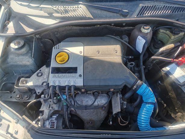 Skrzynia biegów RENAULT Clio II 1.4 75KM JB1