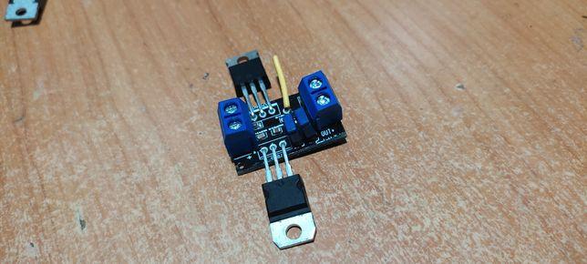 Невидимый  бесконтактный сенсорный выключатель с антенной